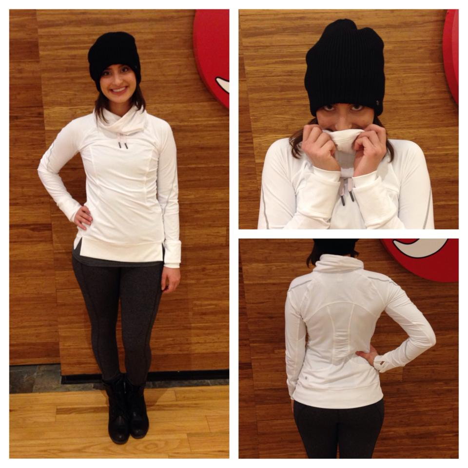 lululemon flurry flighter pullover white