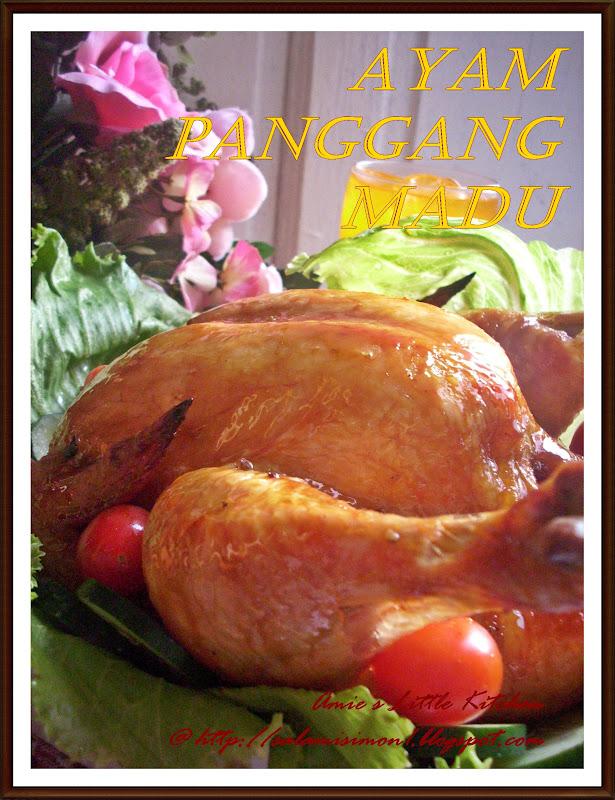 Ayam Panggang Madu - AMIE'S LITTLE KITCHEN