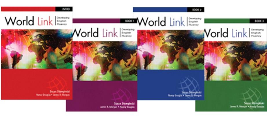 World Link: Developing English Fluency [Intro, Libro 1, 2 y 3]