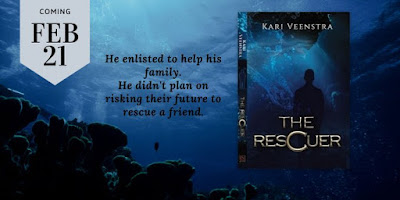 Debut Author Kari Veenstra #NewBook The Rescuer