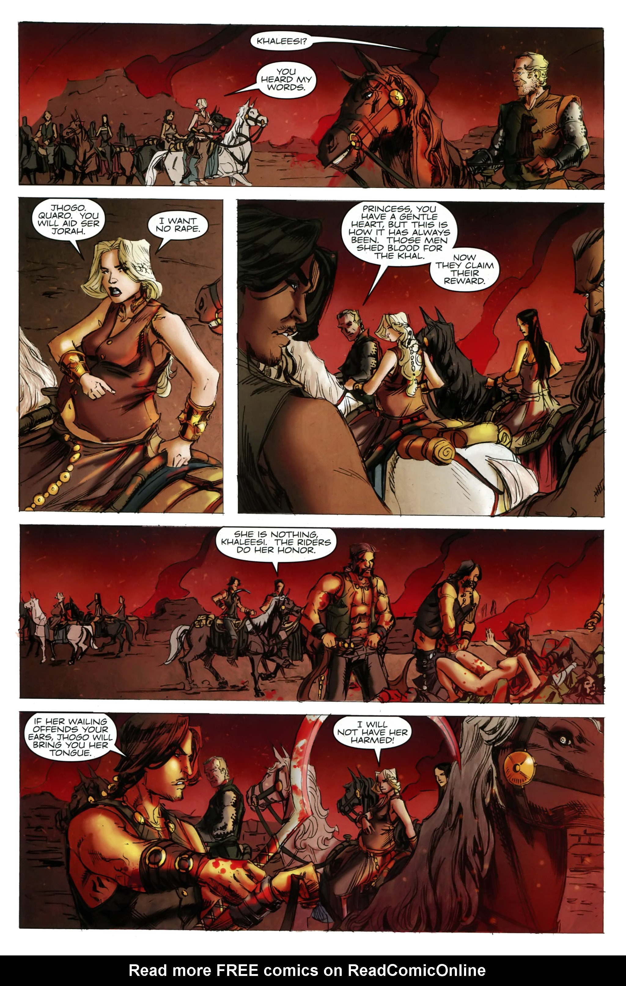 Read online A Game Of Thrones comic -  Issue #20 - 7