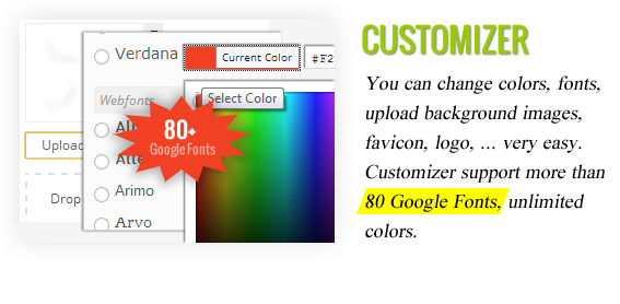 Customizer - Maginess – Flexible Magazine WordPress Theme