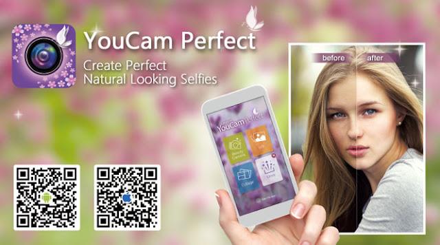 تطبيق YouCam Perfect – Selfie Cam: