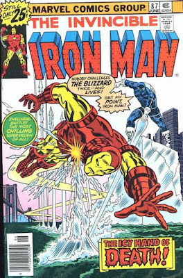 Iron Man #87, Blizzard