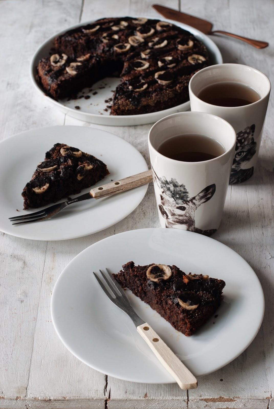 Ciasto czekoladowe z marchewką bez glutenu