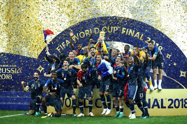 Melhores momentos França e Croácia - Copa do Mundo Rússia-2018