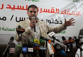 نجل مرسي يكشف لأول مرة عن مكان احتجاز والده شاهد على موقع ايجى كول