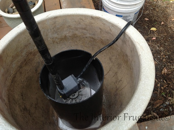Step 4 How To Turn Plant Pots Into Water Fountain
