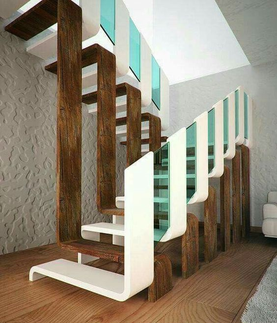 7 Ultra Modern Staircases: Latest Modern Stairs Designs Ideas Catalog 2019