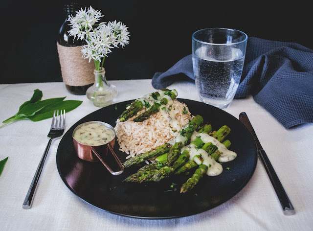 yunaban, blog, blogger, schweiz, swiss, switzerland, magic, wild garlic, asparagus, recipe, vegan, glutenfree, spargel, bärlauch, rice, witch, foodie, plantbased, savory