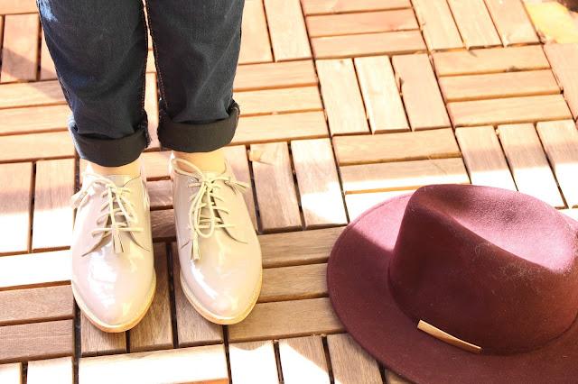 chaussures rose poudré kiabi