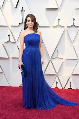 #Moda - Óscares 2019 Tina Fey