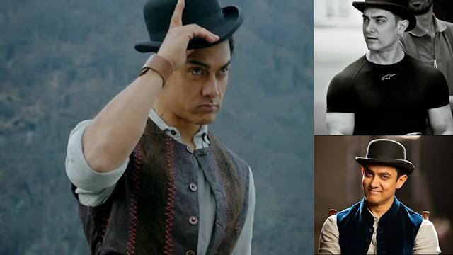 Aamir Khan in style with his hat in Dhoom 3