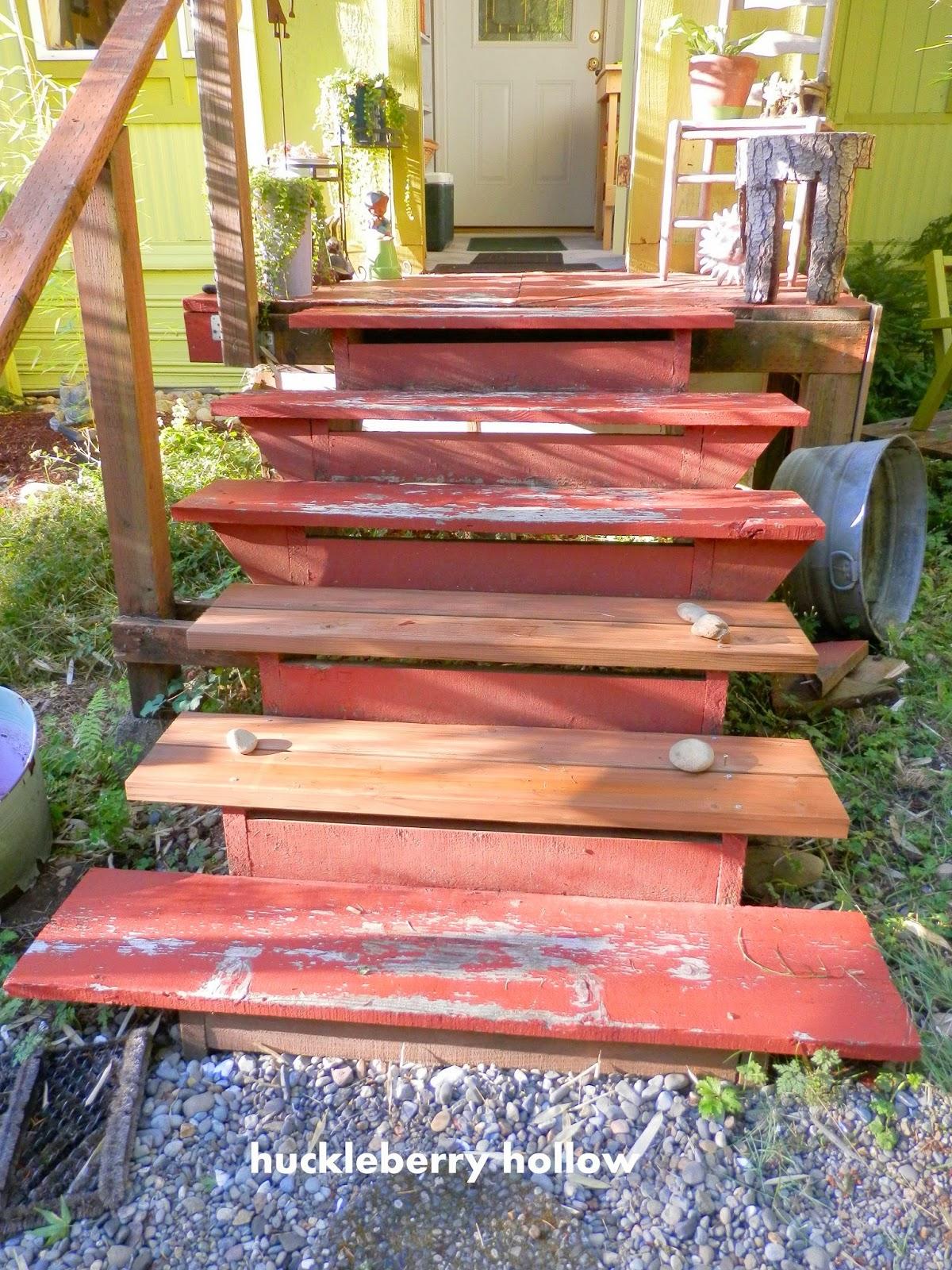 Outdoor Steps Huckleberry Hollow Replacing Outdoor Steps