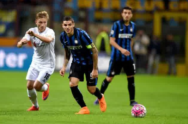 Fiorentina vs Inter Milan Serie A Italian 2016