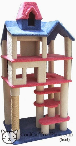 Cat Trees, Carpet And Thinking Outside The Box
