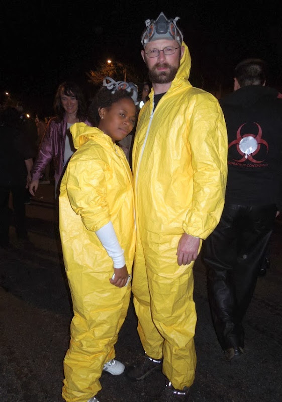 Breaking Bad costumes West Hollywood Carnaval 2013