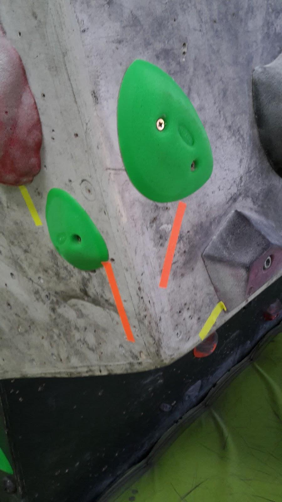 Nuevo circuito verde, bloques fosforito nuevos, flathold nuevos 5