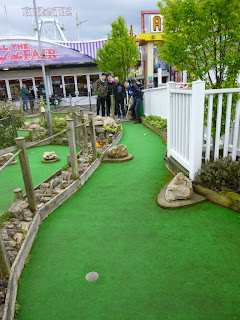 Pebble Beach Adventure Golf course in Skegness