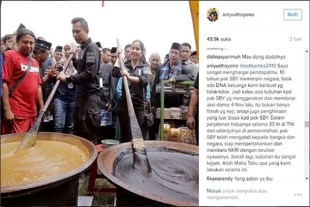 @aniyudhoyono: Tuduhan Itu Sangat Kejam
