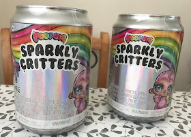 two packs of Poopsie Sparkly Critters toy
