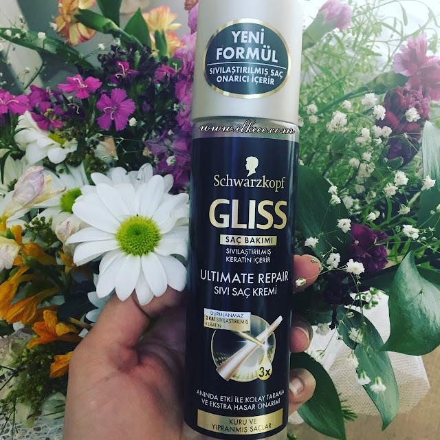 Schwarzkopf Gliss Siyah Seri - Keratin Bakımı - Kuru Saçlar için saç bakımı