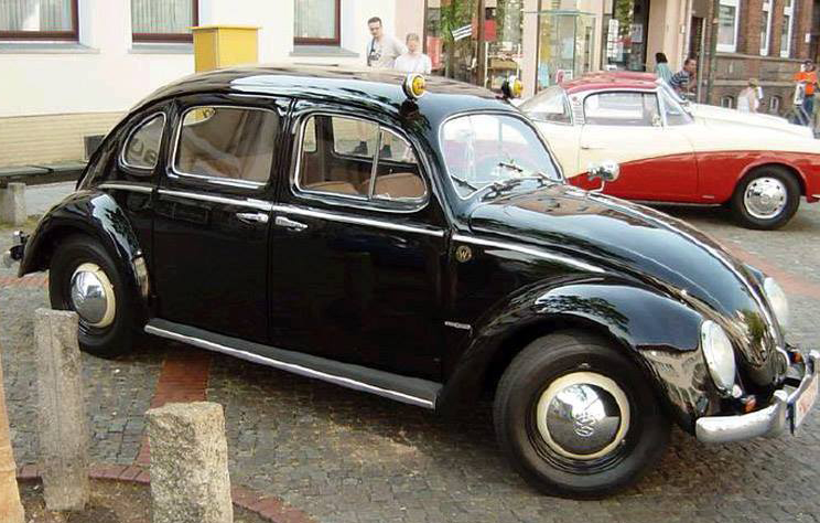 Rometsch VW Beetle 4-door Taxi & Just A Car Guy: Rometsch VW Beetle 4-door Taxi