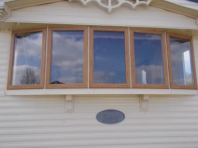 windows and doors for static caravans in irish oak