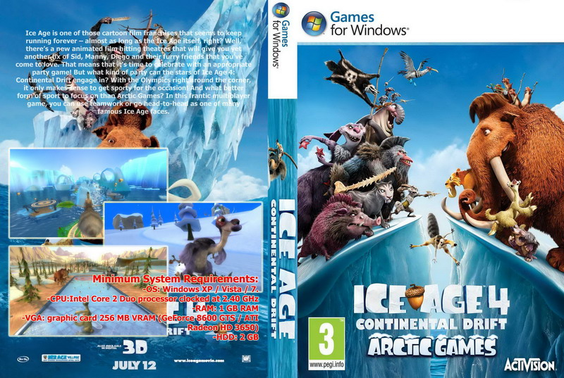 Ice. Age. Continental. Drift. Arctic. Games-kaos download | piktochart.