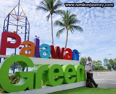 palawan green sentosa island singapura