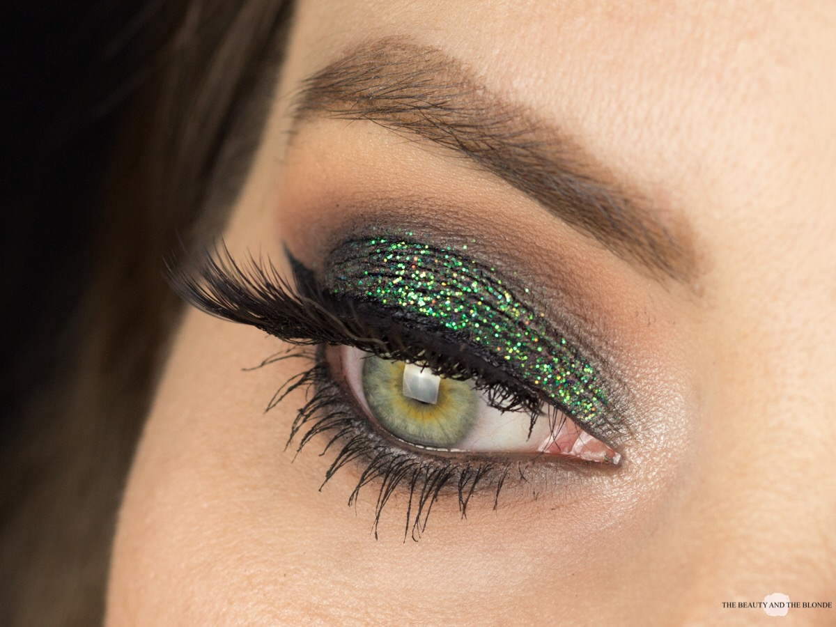 Lit Cosmetics Magic Dragon Glitter Eye Makeup Look