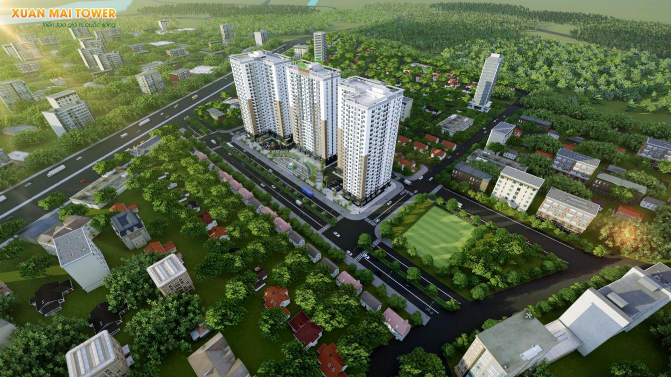 Xuân Mai Tower - biểu tượng sống mới của Thanh Hoá