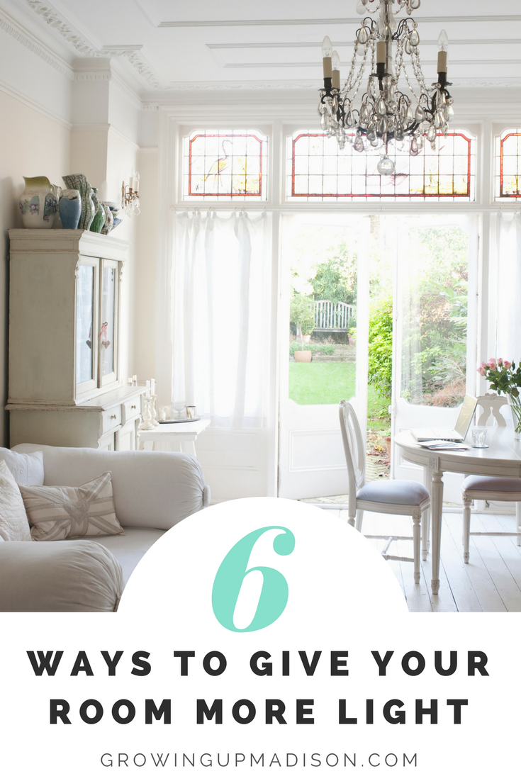 6 Ways to Give Your Room More Light - AnnMarie John