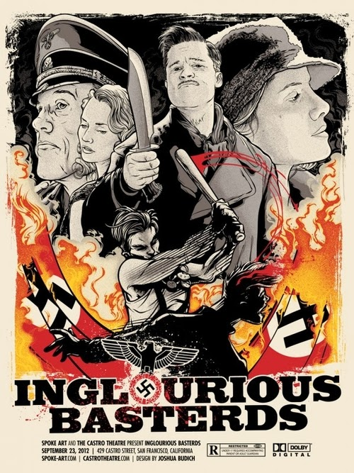04-Inglorious-Basterds-Film-and-TV-Series-Posters-US-Artist-Joshua-Budich-www-designstack-co