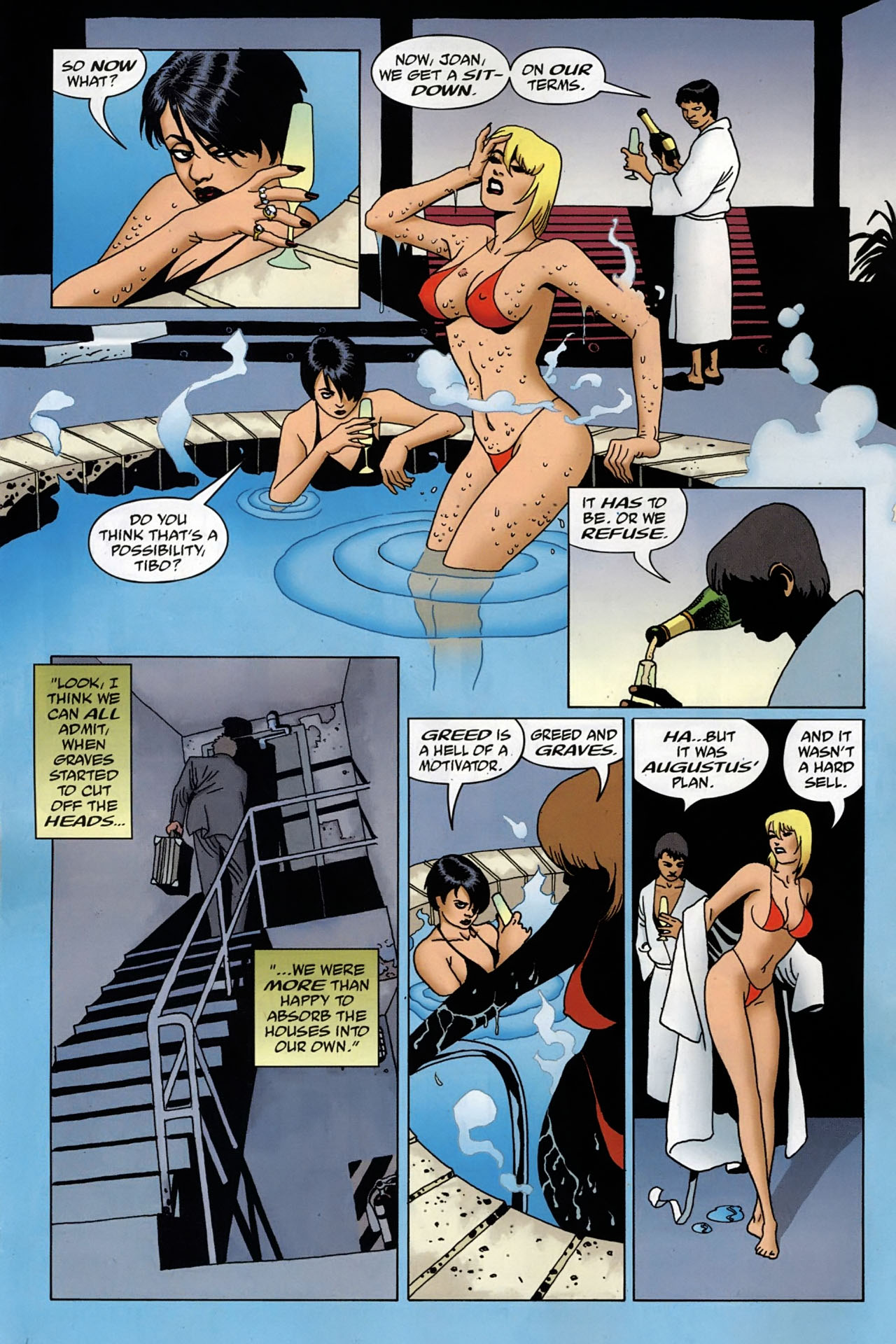 Read online 100 Bullets comic -  Issue #97 - 5