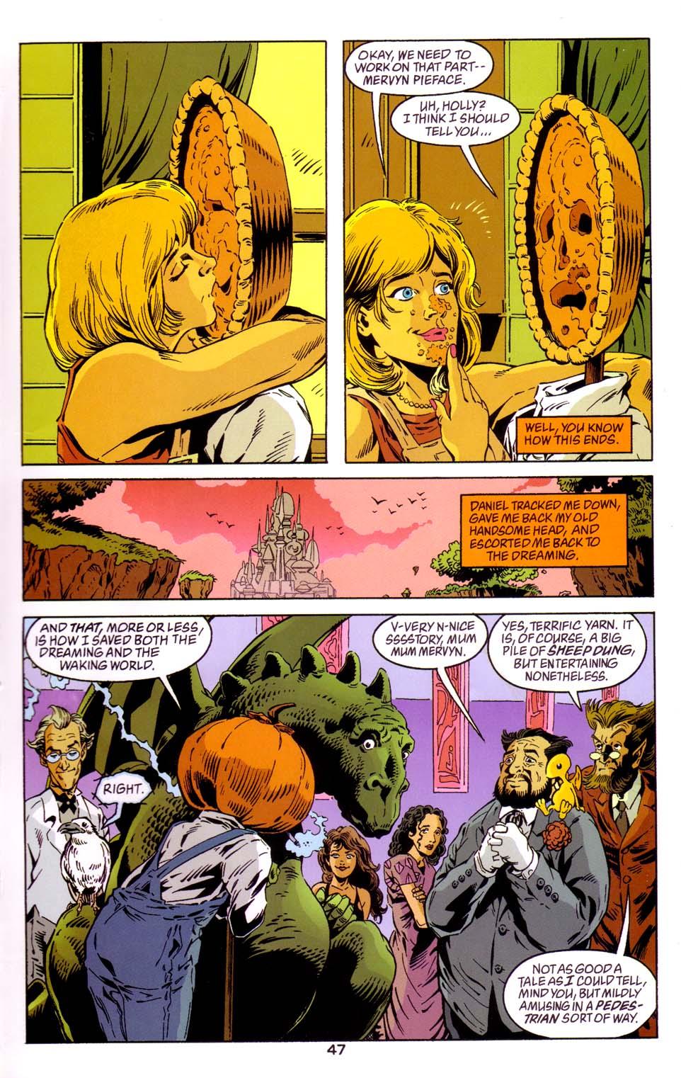 Read online Merv Pumpkinhead, Agent of D.R.E.A.M. comic -  Issue # Full - 47