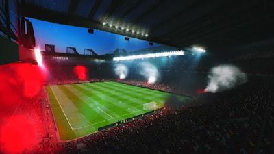 PES 2016 Smokebomb Pack untuk Old Trafford dan Camp Nou