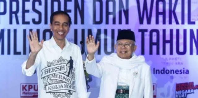 Deklarasi Dukung Jokowi-Amin, Ikhwanul Muballighin Nilai Kiai Ma'ruf Bisa Bikin Islam Indonesia Lebih Sejuk
