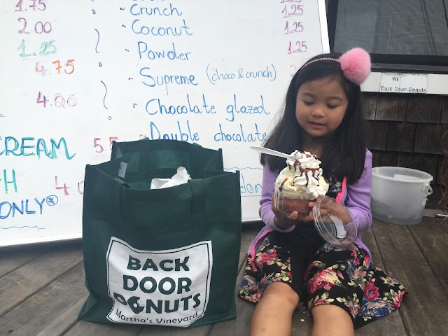 Donut Sundae | Back Door Donuts | Oak Bluffs | Chichi Mary Blog