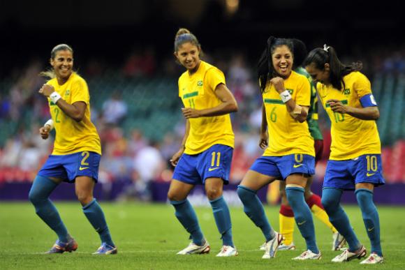 Aquecimento Olímpico: Futebol Feminino