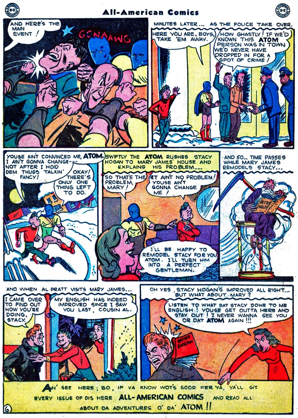 Read online All-American Comics (1939) comic -  Issue #70 - 22