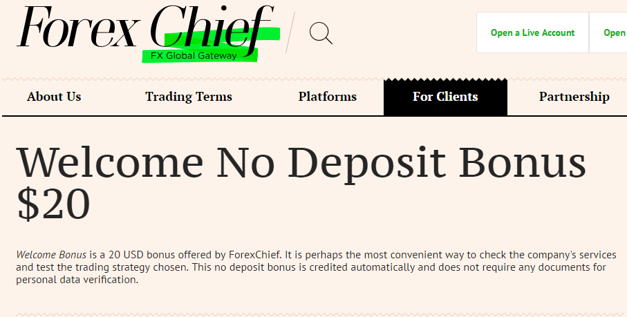 Forex welcome bonus no deposit 2017