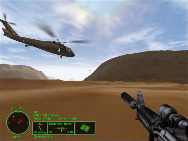 Delta Force Task Force Dagger PC Version Game Play