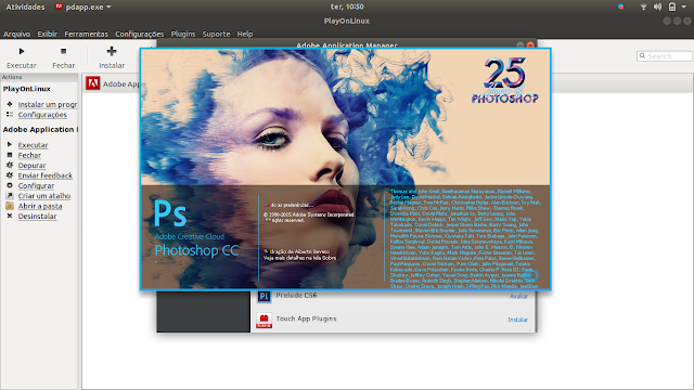 Photoshop no Linux