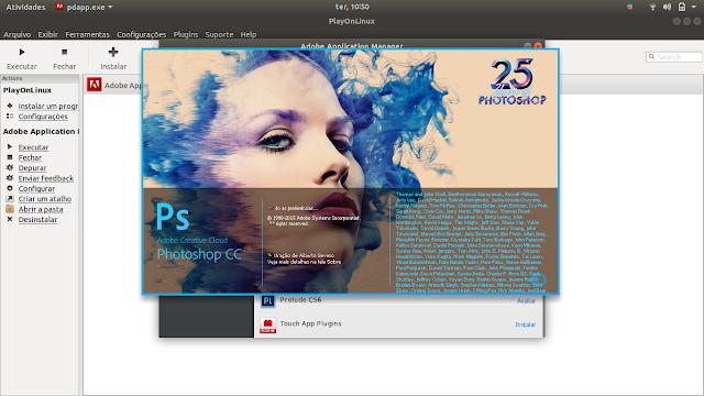 Photoshop no Linux