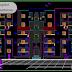 مخطط مشروع عمارة سكنية (R+4) بشكل جميل اتوكاد dwg