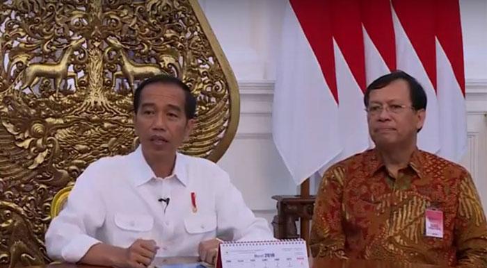 Jokowi Lapor Pajak secara online via eFiling