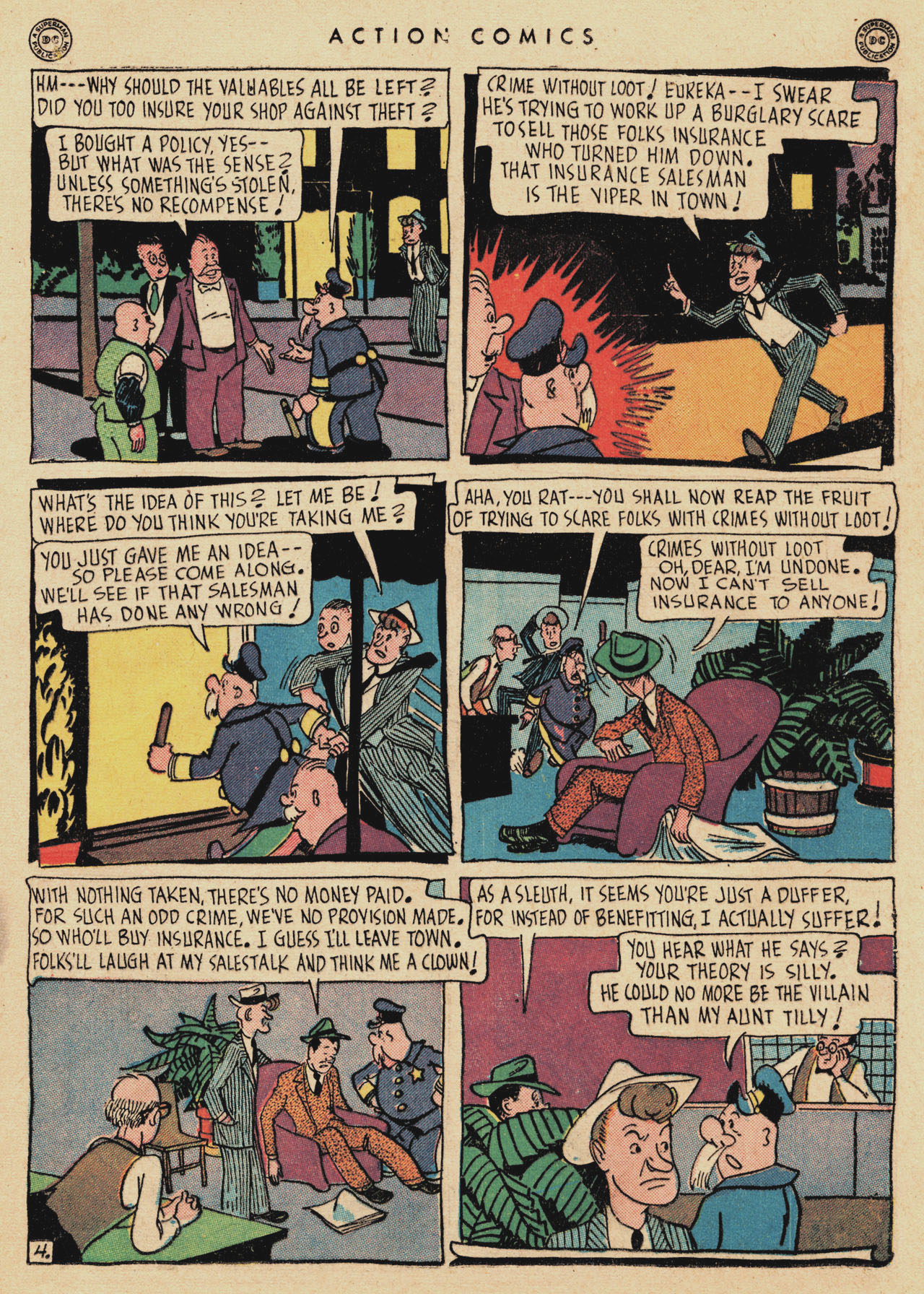 Read online Action Comics (1938) comic -  Issue #94 - 19
