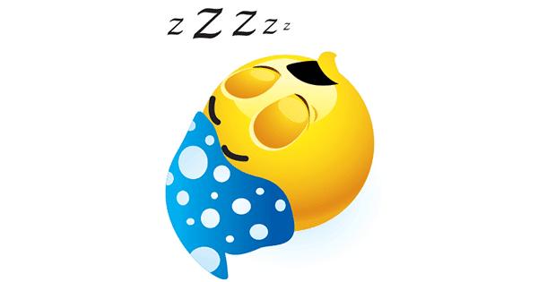 nightynight symbols amp emoticons