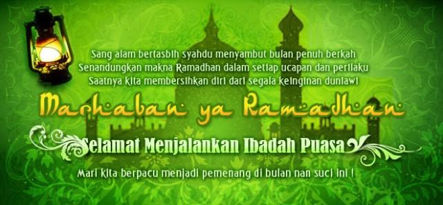 Kumpulan Kata Ucapan Selamat Puasa Ramadhan 2017 / 1438 H